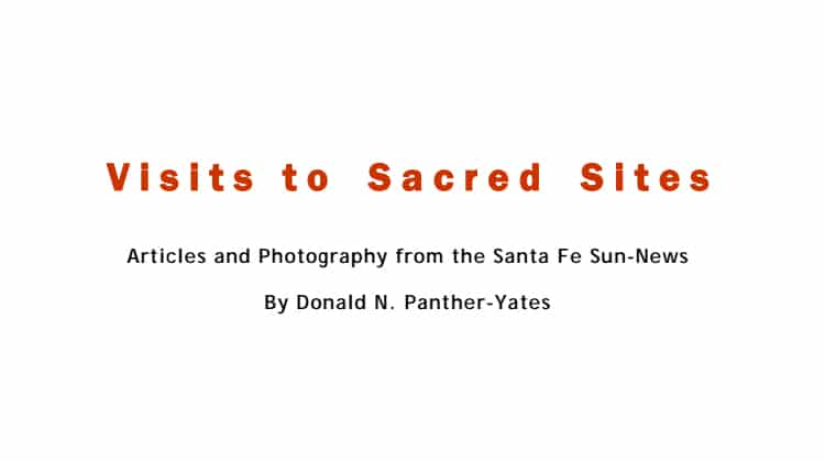 Visits to Sacred Sites Articles