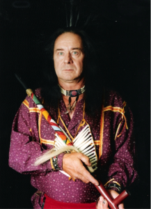 Paul Russell, Tihanama elder, in 1996.