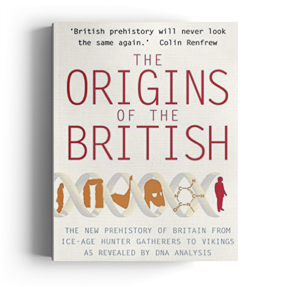 The Origins of the British: The New Prehistory of Britain (Paperback)