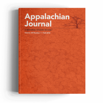 Appalachian Journal Vol 38