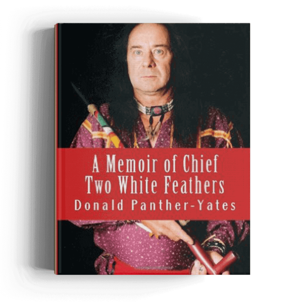 A memoriar of chief two white feathers