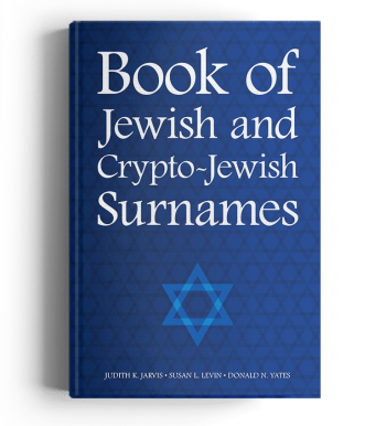 Cover Book of Jewish and Crypto-Jewish Surnames